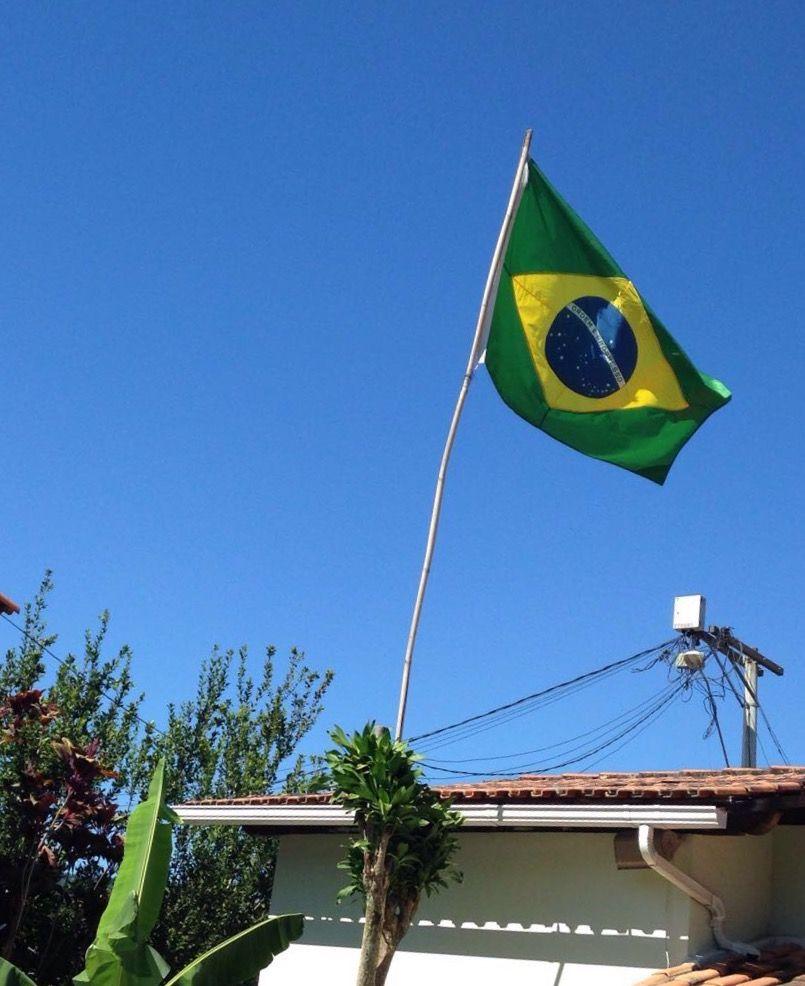 Meu Brasil , a bandeira mais amada !
