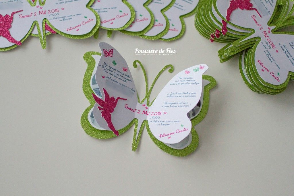 Tinker Bell Invitation is adorable invitation example