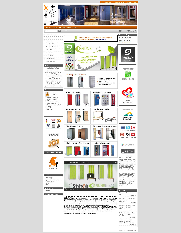 Spindmax.de - der neue Shop