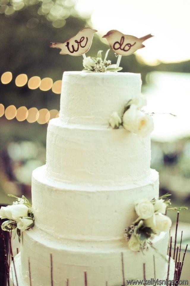 Love Bird Wedding Decorations Cake Topper Love Birds Rustic