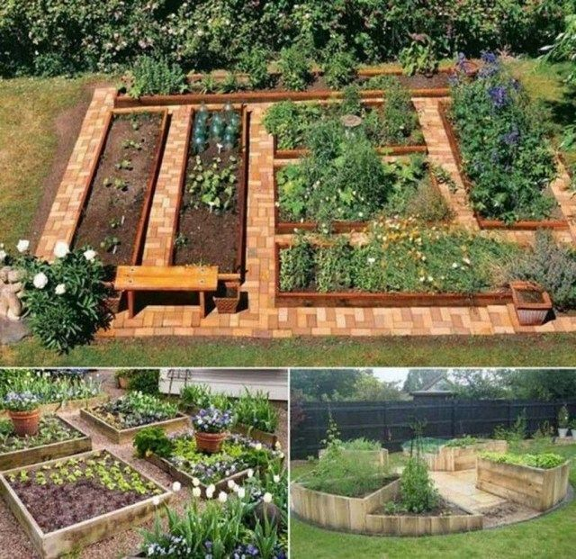 Photo of 69 Beautiful DIY Vegetable Garden Ideas For Backyard #vegetable garden path