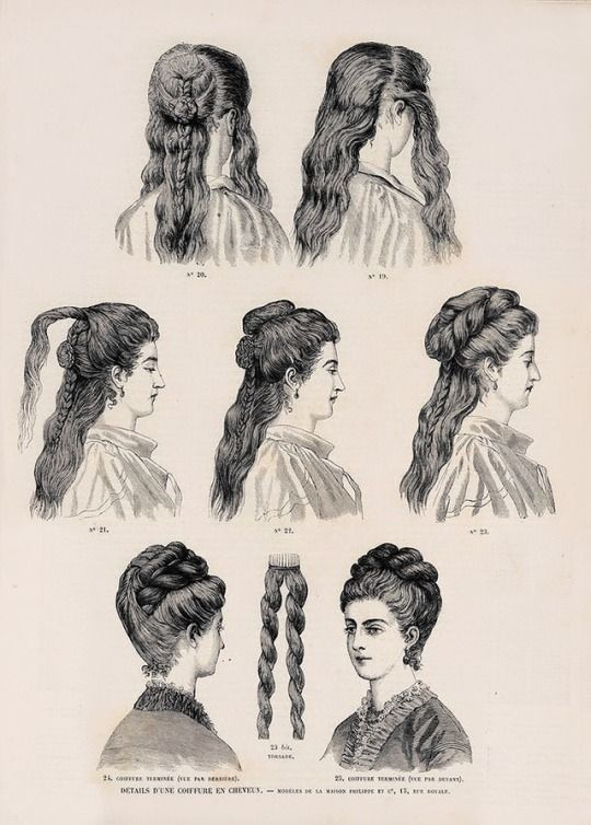 lovely historical hairstyles