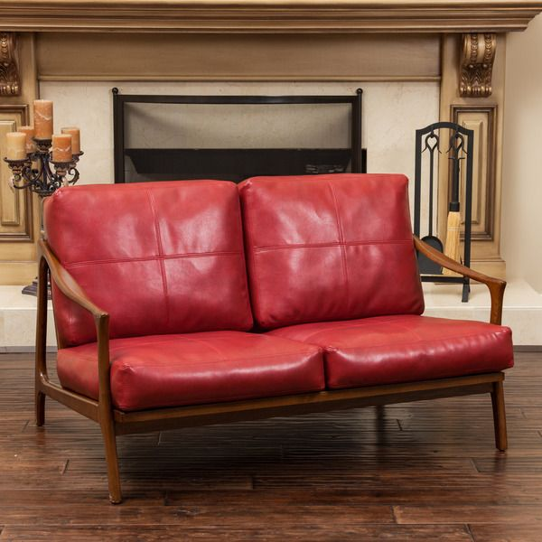 christopher knight home hampton wood frame loveseat 91999 - Wood Frame Loveseat