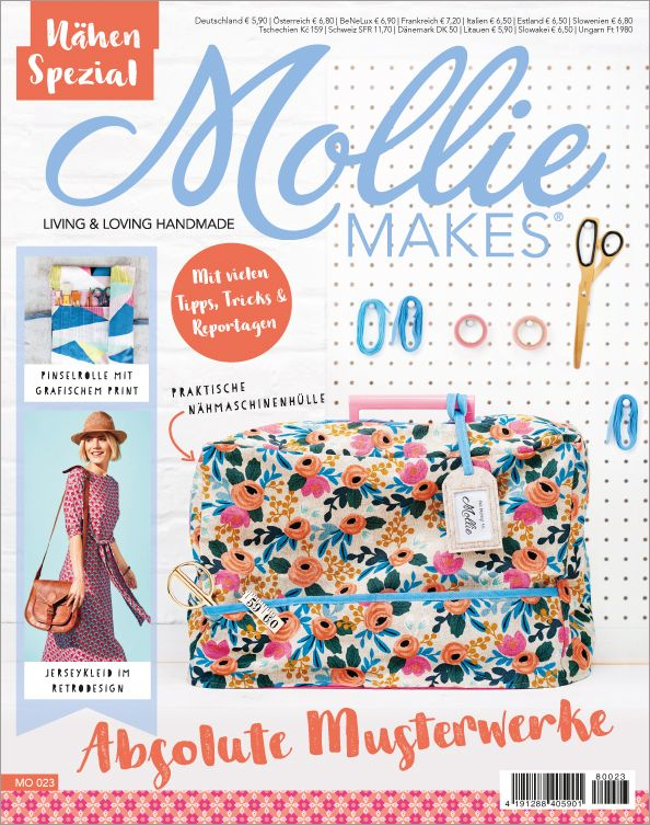 Mollie Makes Sonderheft - Nähen Spezial: Andrea Müller alias Jolijou ...