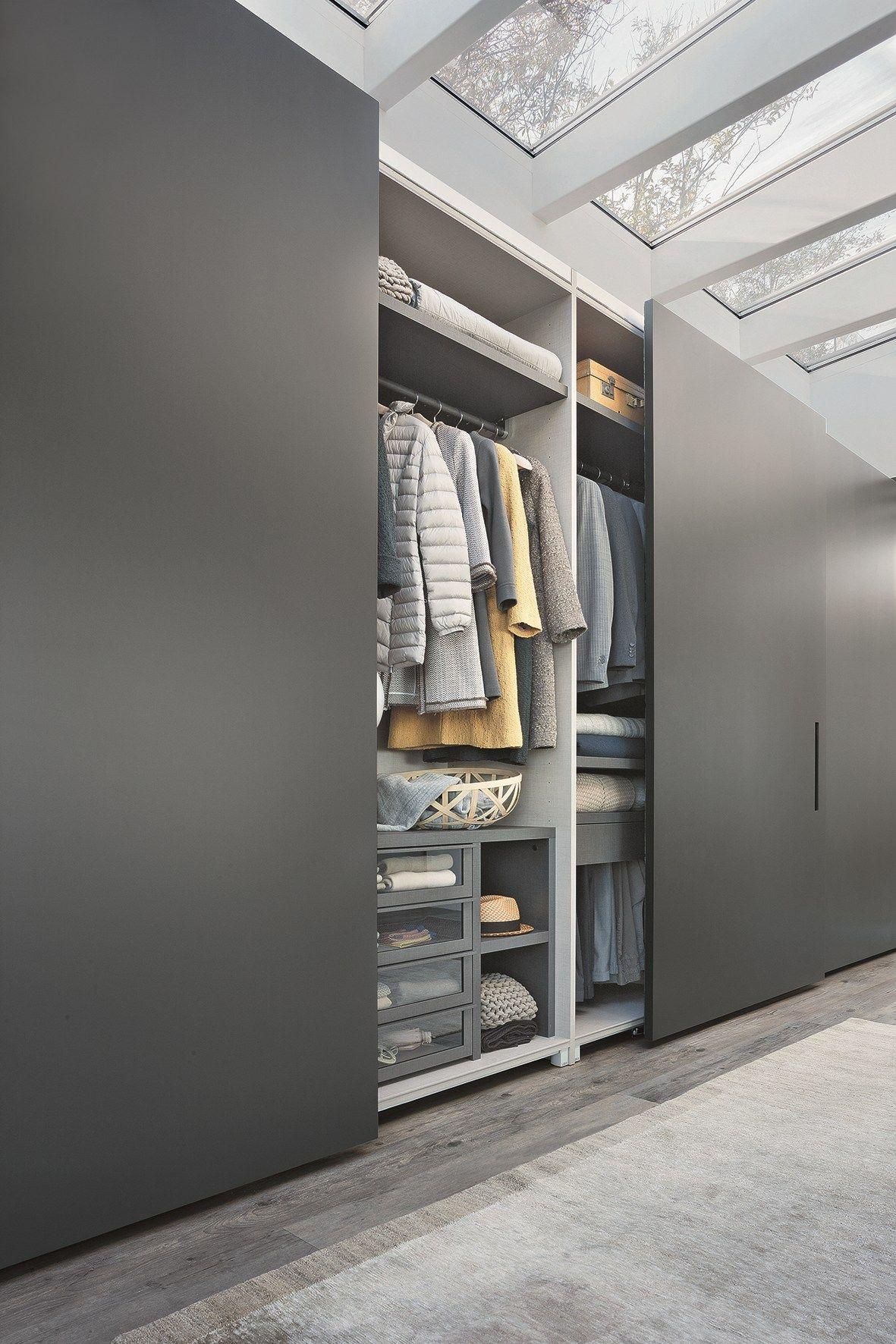Ellevi Wardrobe With Coplanar Doors By Lema Cupboard Design Sliding Door Wardrobe Designs Bedroom Cupboard Designs