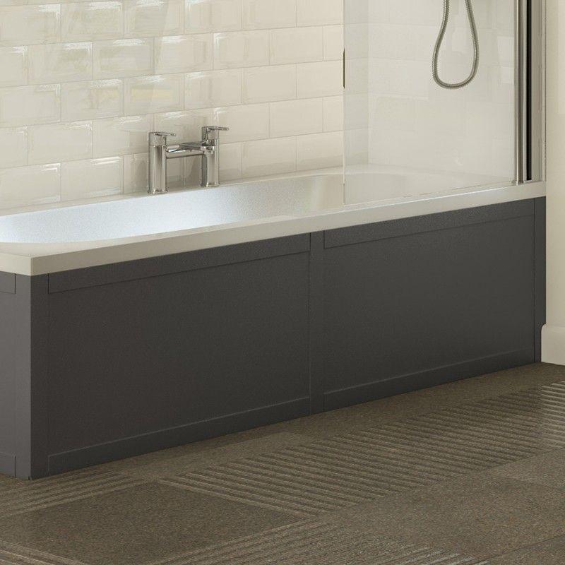 Bath Panels Walnut Oak White L And P Shaped Straight Panel