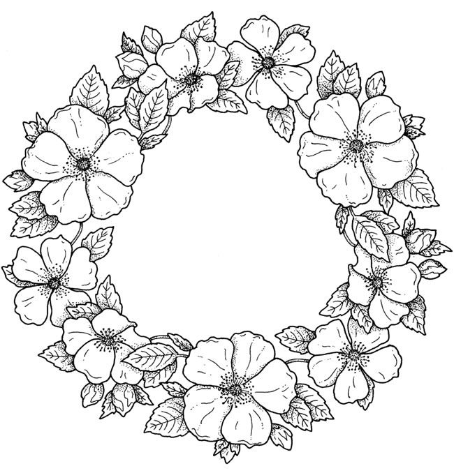 Welcome to Dover Publications(This would make a nice place mat for the table. Stamp it on medium pellon, color it with ball point fabric paint, then cut it out around the outside edge's. Pellon will not ravel...