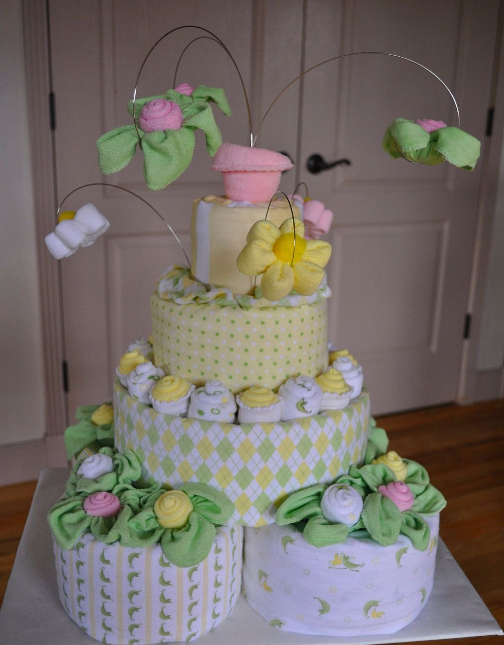 Baby Shower Diaper Cake Instructions Diaper Cake Inspirations For Your Next Baby