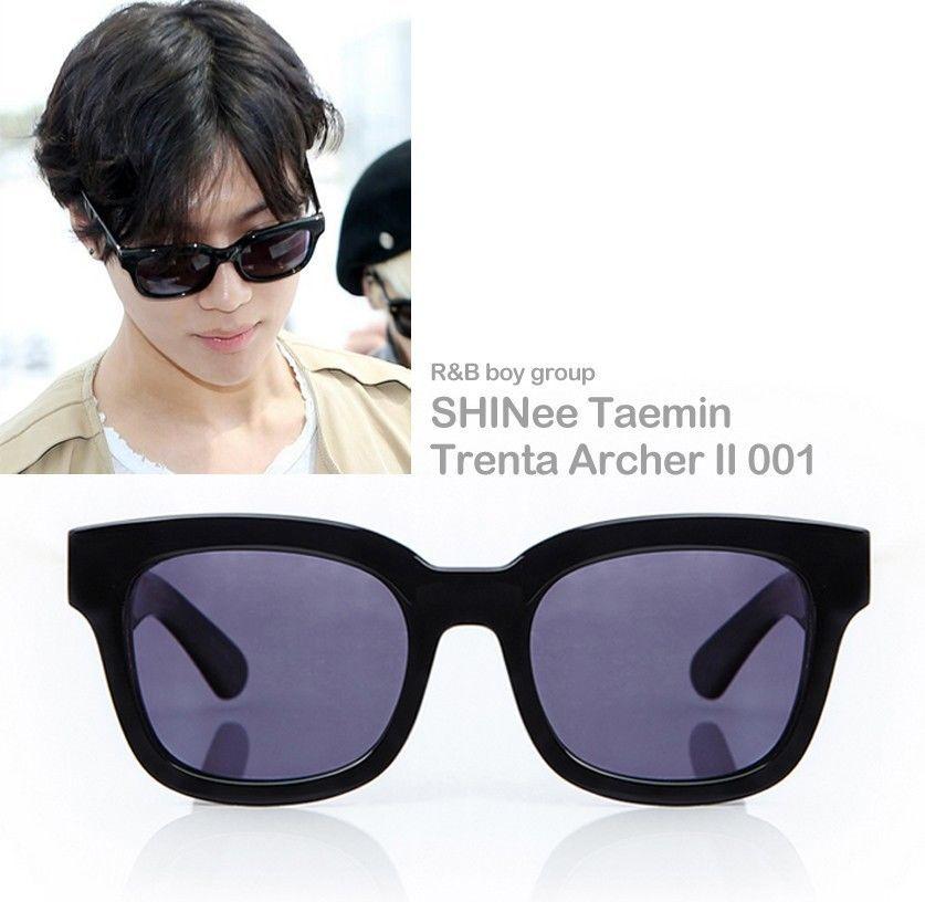 1d0130a01b2d World K-pop R B boy group SHINee Taemin Airport Fashion eyewear Trenta  Archer II  TrentaArcherIISeries  Round