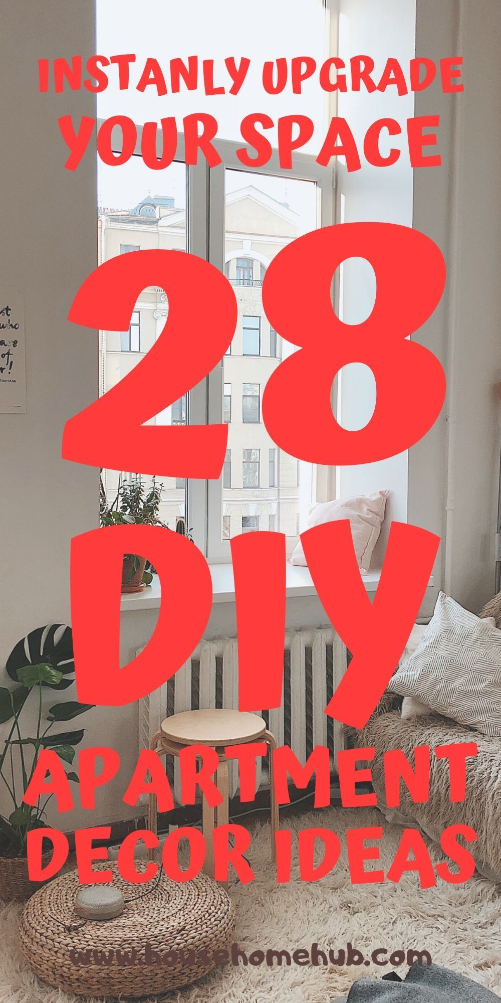 Instantly Update Your Space With 28 DIY Apartment Decor Ideas -   diy Apartment decor for renters