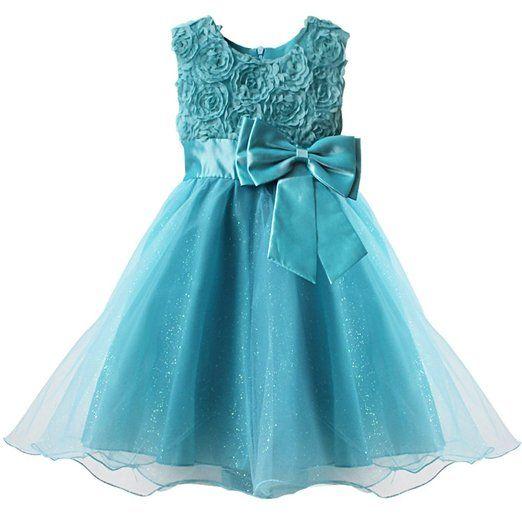 Efe Kinder Madchen Festliches 3d Blumenkleid Achten Sie Bitte Auf Die Grosse Amazon De Bekleidung Blumenmadchen Kleid Turkise Brautkleider Blumenkleid