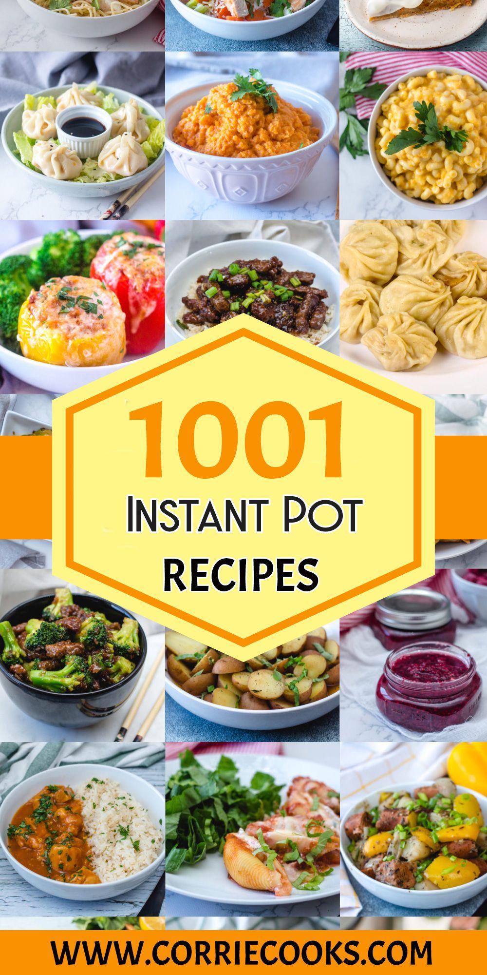 1001 Instant Pot Recipes - Corrie Cooks
