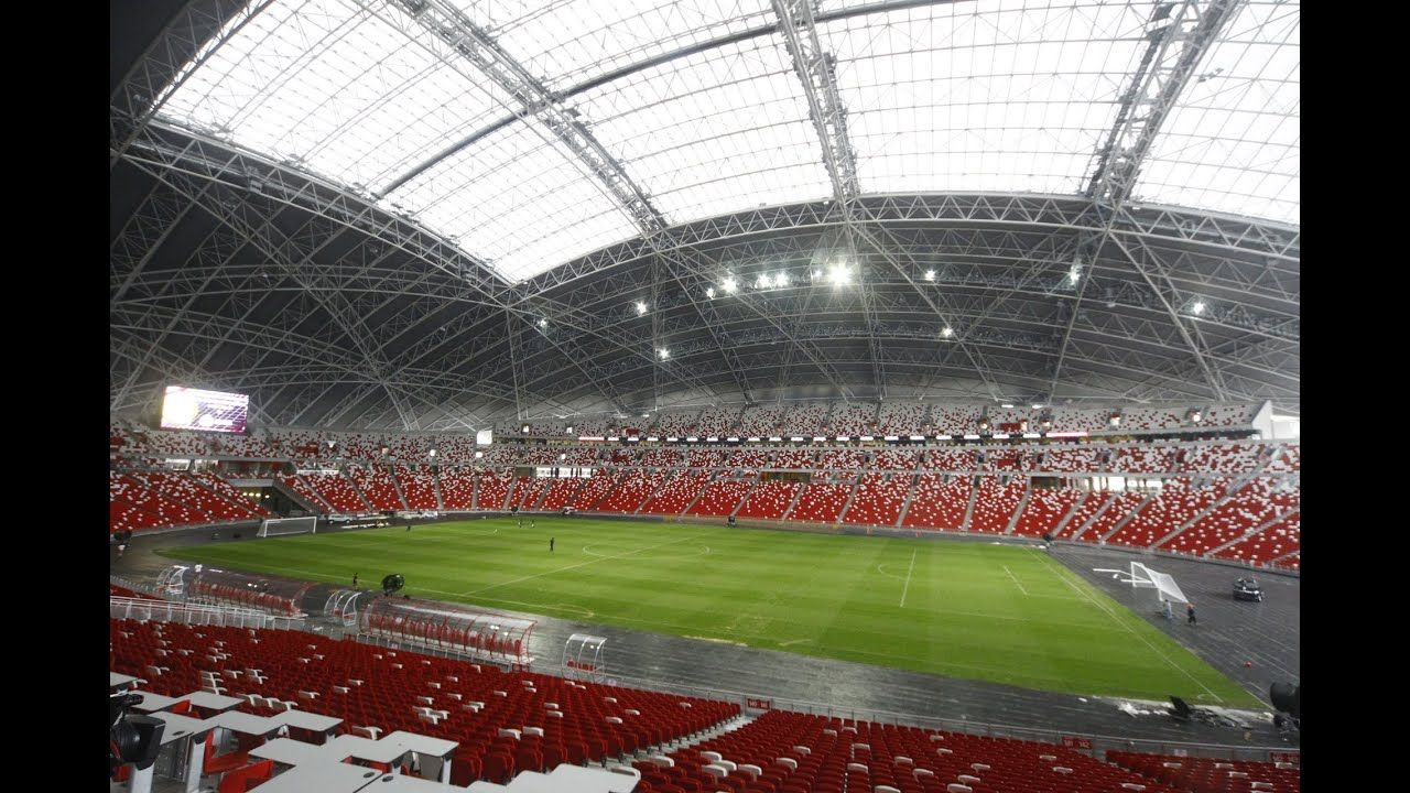 Behind the scenes tour of the new National Stadium (With