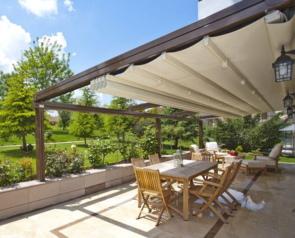 Image Blinds Retractable Roofing Systems The Trusted Name In Blinds Awnings And Curtains Modern Gazebo Aluminum Pergola Pergola With Roof