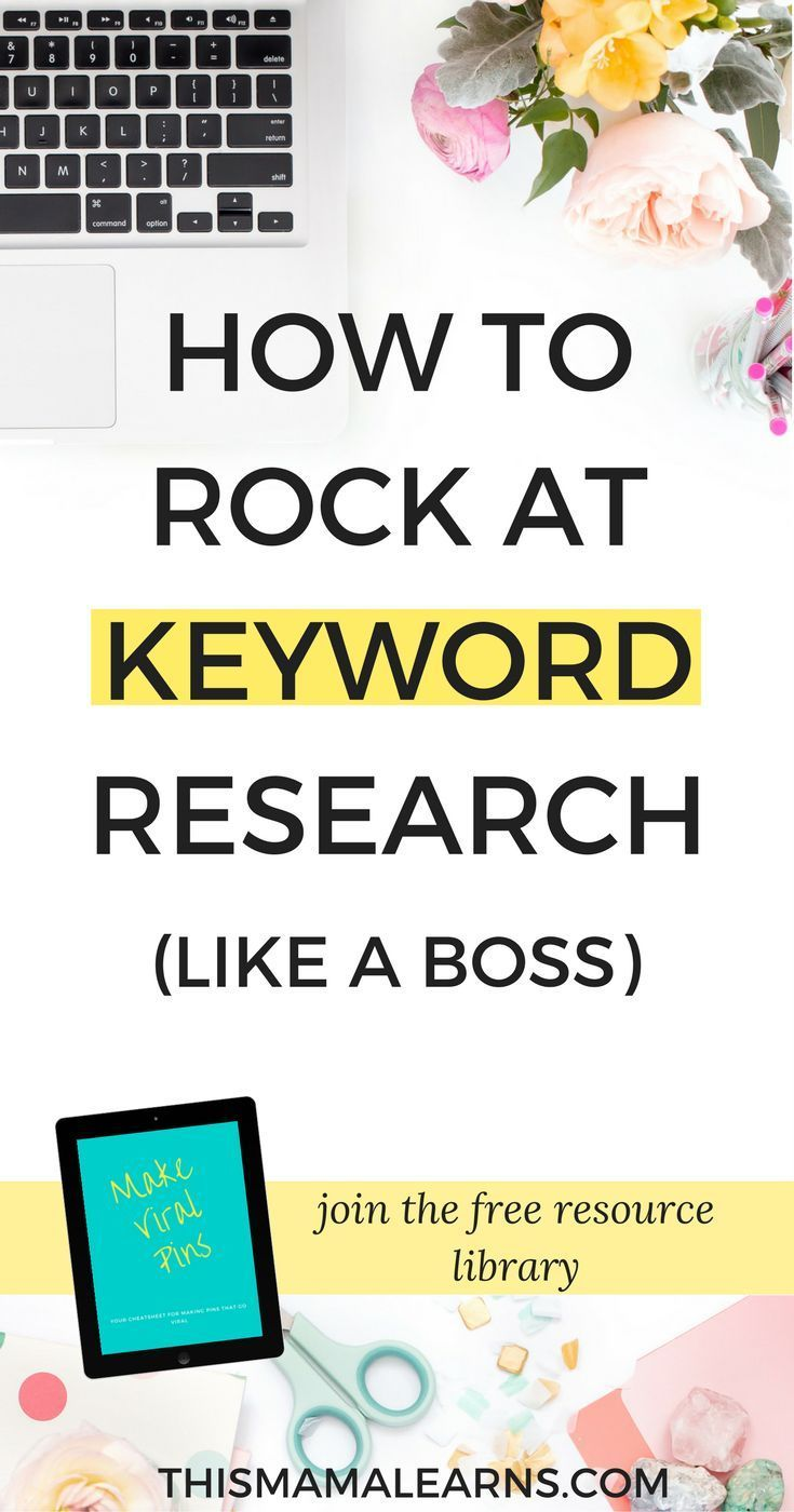 How To Rock At Keyword Research Like A Boss Blog Tips Seo For Beginners Make Money Blogging