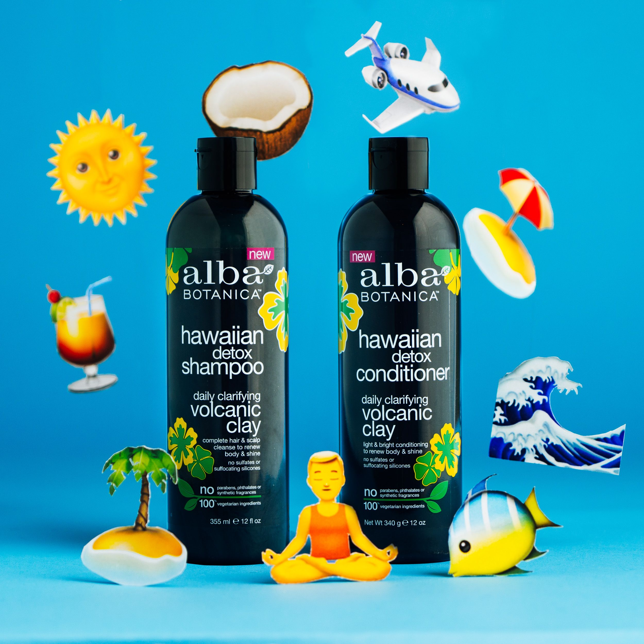 Say Aloha To Our New Alba Botanica Hawaiian Detox Shampoo