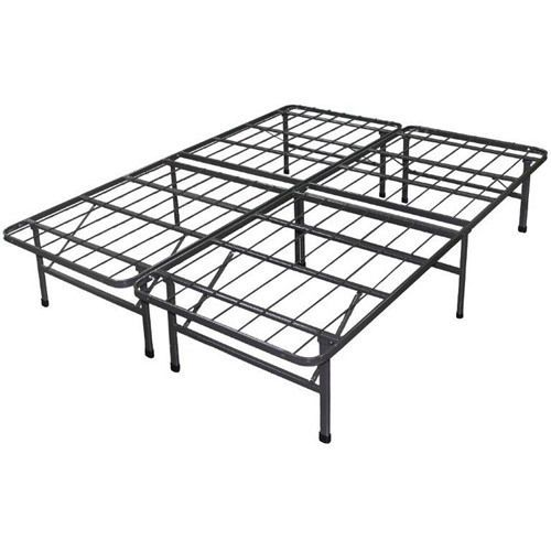 Spa Sensations Steel Smart Base Bed Frame Black King W Sbbk K Spasensations Full Metal Bed Frame Steel Bed Frame Metal Bed Frame