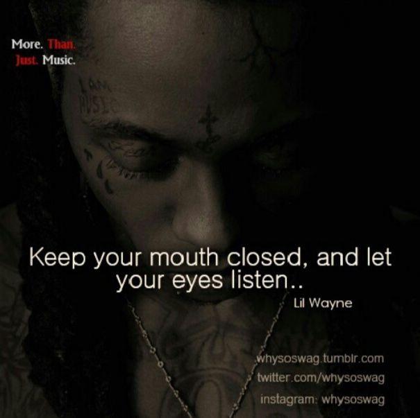 Quote by Lil Wayne #lilwayne Quote by Lil Wayne #lilwayne