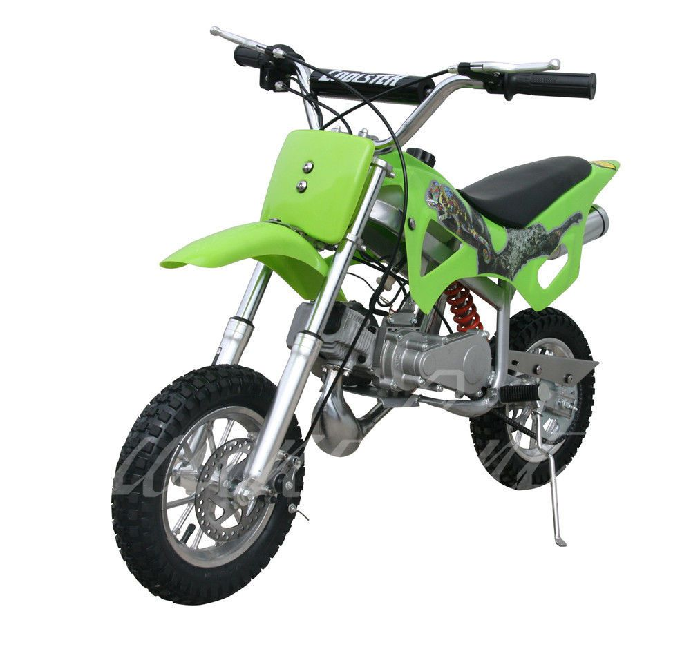 Coolster Qg 50 50cc 49 Dirt Bike Fully Auto Mini 2 Stroke Pull