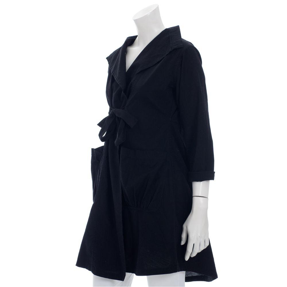 Woosters, Masai Clothing, Masai Janel Jacket, Black Cotton Jacket