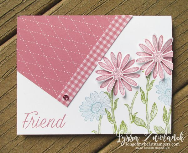 Easy Diagonal Paper Accent Layout
