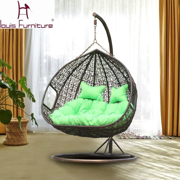 Cheap Outdoor Wicker Chairs, Buy Quality Chair For Garden Directly From  China Wicker Chair Suppliers: Swing Cany Chair For Garden Double Chairs  Rattan Sofa ...