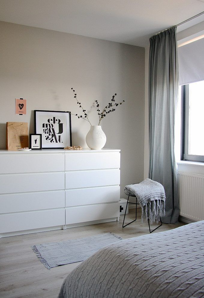 glamorous ikea malm bedroom inspiration   Pin by Cristina Rago on Apartment   Looks & Feels in 2019 ...
