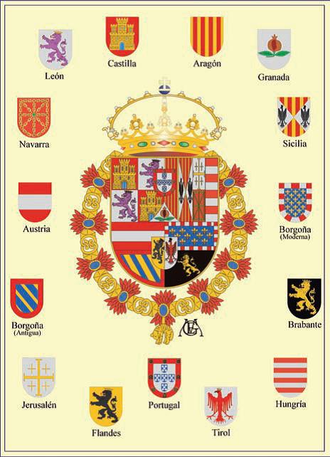 escudo de la bandera de espana png