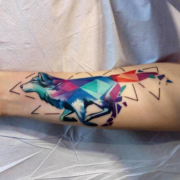 Wolf Tattoo Color Google Zoeken