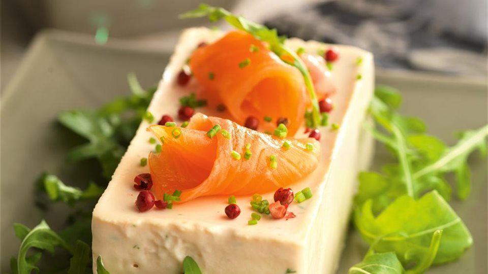 Mousse de salmón ahumado