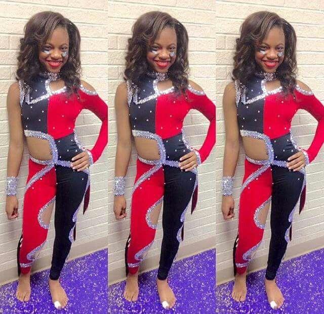 Kanarie Dancing Dolls Bring It Dance Team Clothes Majorette Outfits