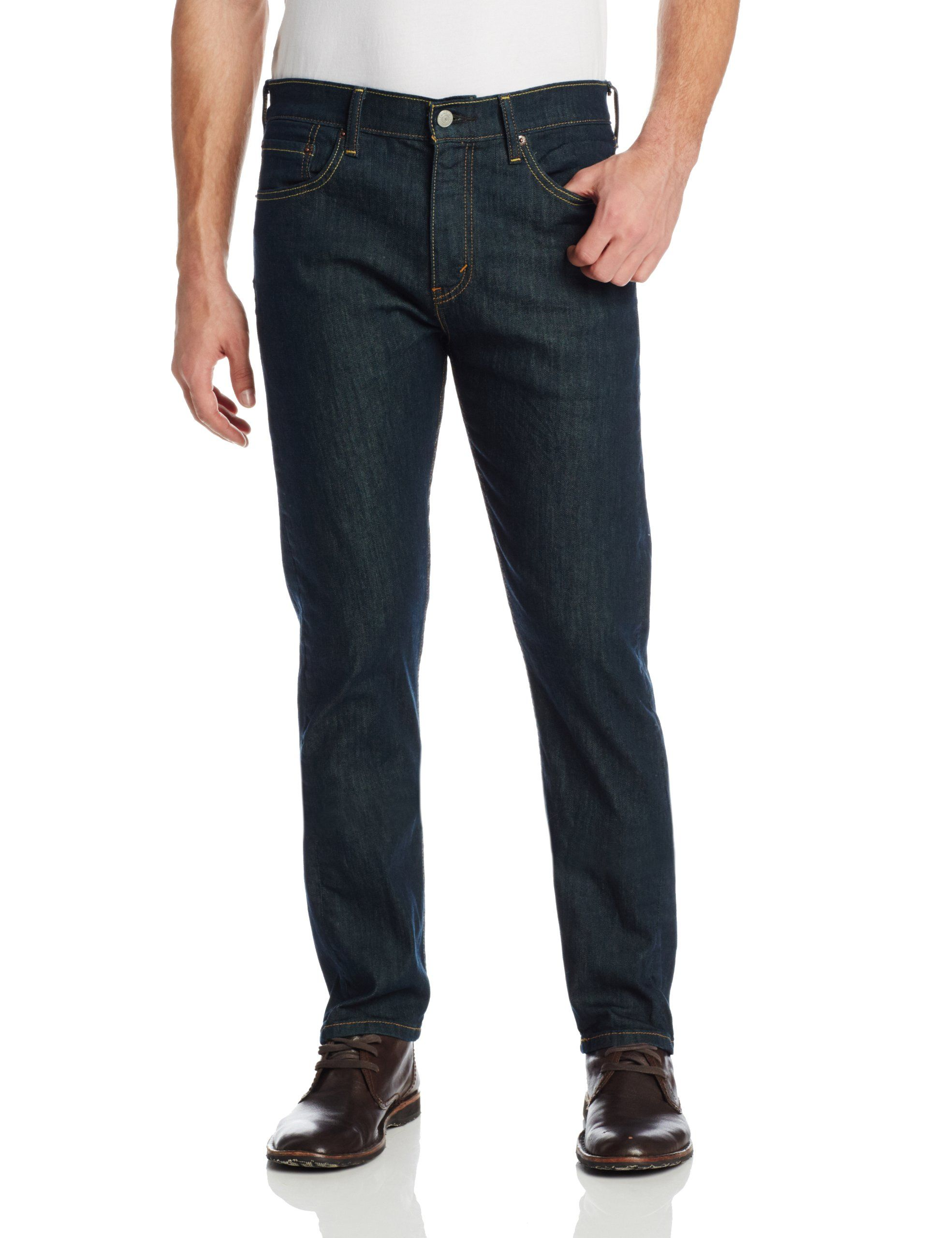 77a935e1c67 Levi's Men's 508 Regular Taper Fit Jean, Rinsed Playa, 36x30 ...