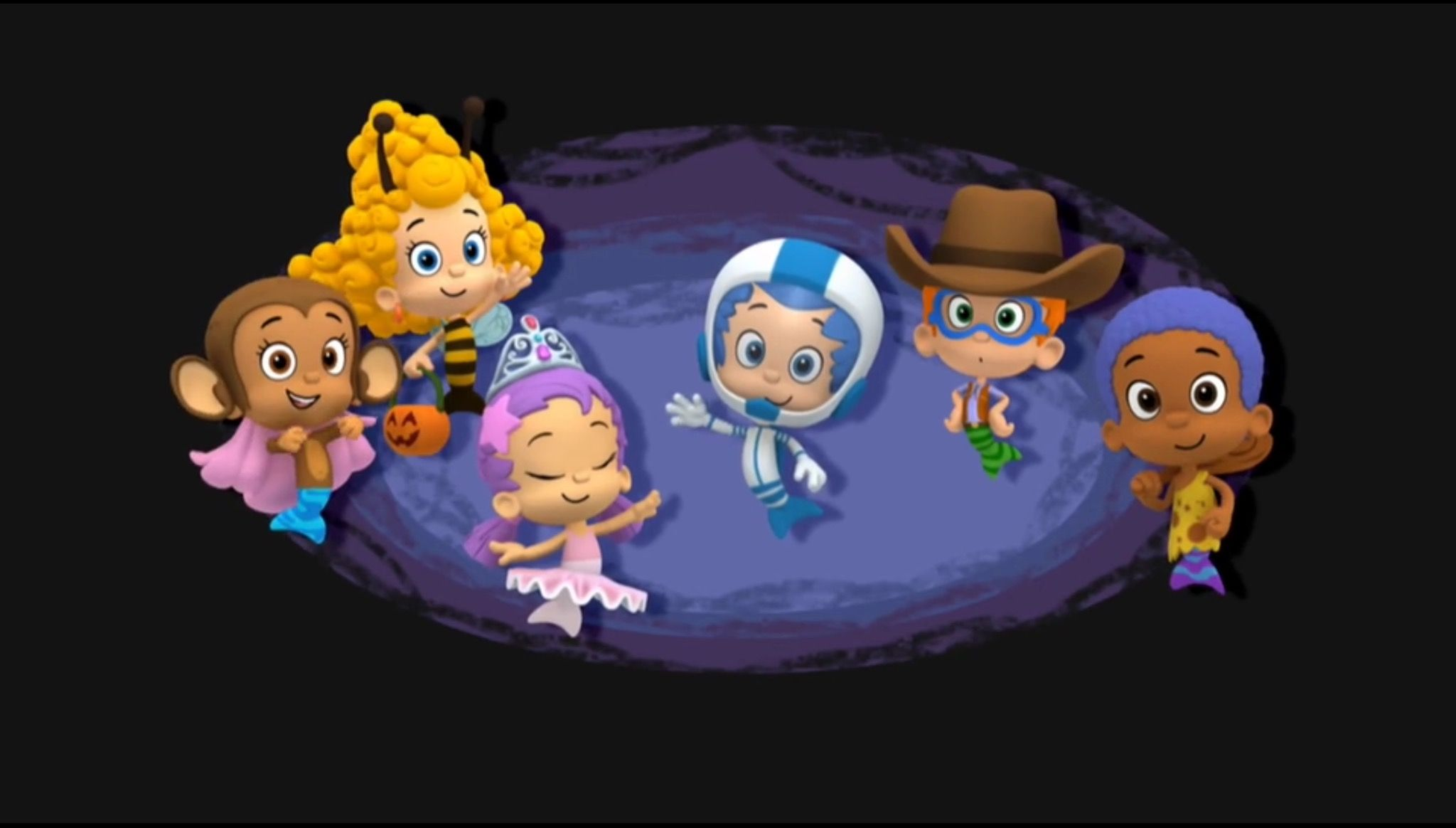 The bubble guppies can dress up anything they want to be on ...