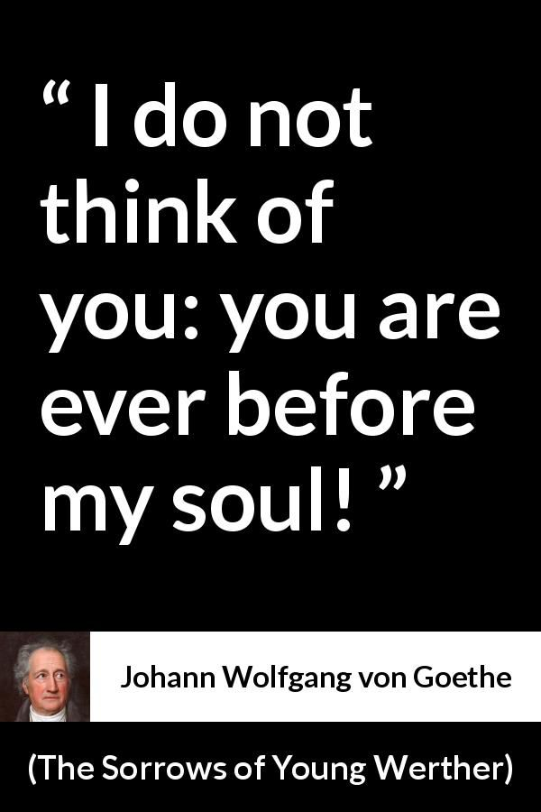 Johann Wolfgang Von Goethe Quote About Love From The Sorrows Of Unique Norse Quotes About Love