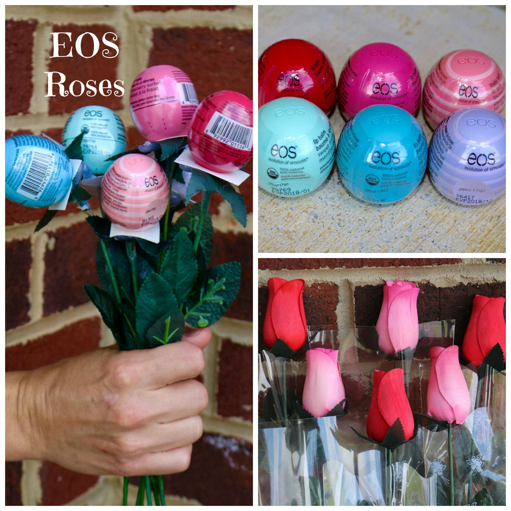 Dance Recital Gift Ideas EOS Roses Roses Wooden Roses EOS Lip