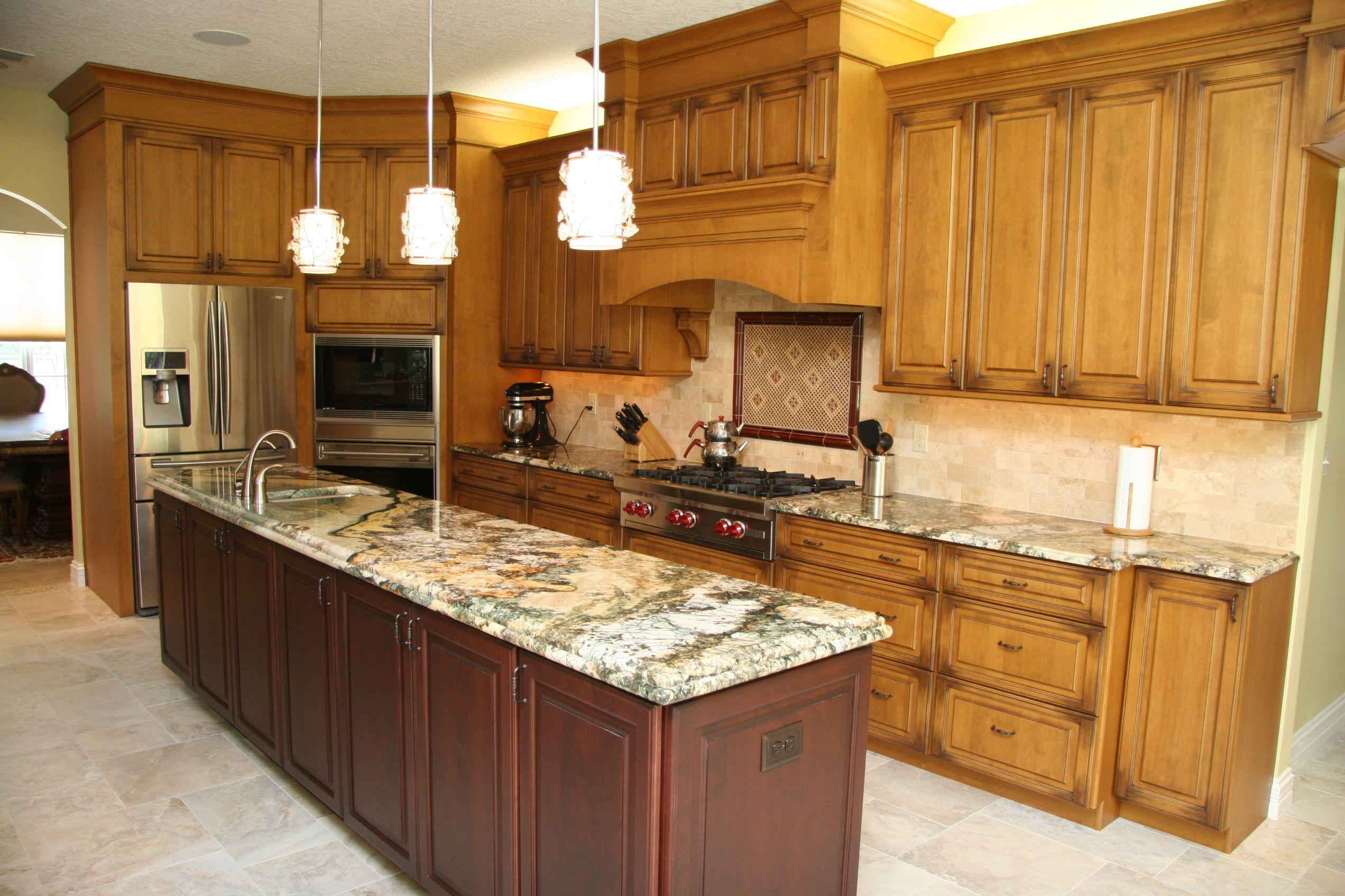 Traditional Kitchen Designed By Monarch Kitchen Bath