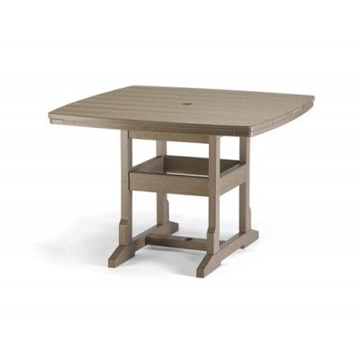 Breezesta 42 X 42 Inch Square Dining Table Seats 8 People From