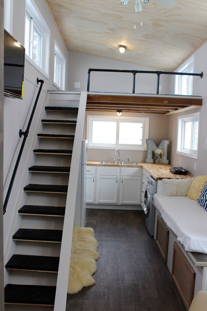 Relax Shack Red Tiny House On Wheels By Mini Mansions For