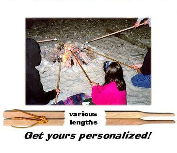 Personalized Marshmallow Sticks