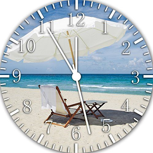 50 beach wall clocks check out the absolute best coastal and beach wall clocks you can buy at. Black Bedroom Furniture Sets. Home Design Ideas