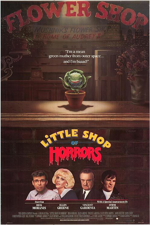 Little Shop Of Horrors 1986 Horror Posters Little Shop Of Horrors Horror Movie Posters