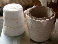 Mold Form For Small Crucible Crucible Ceramic Supplies Mold Making