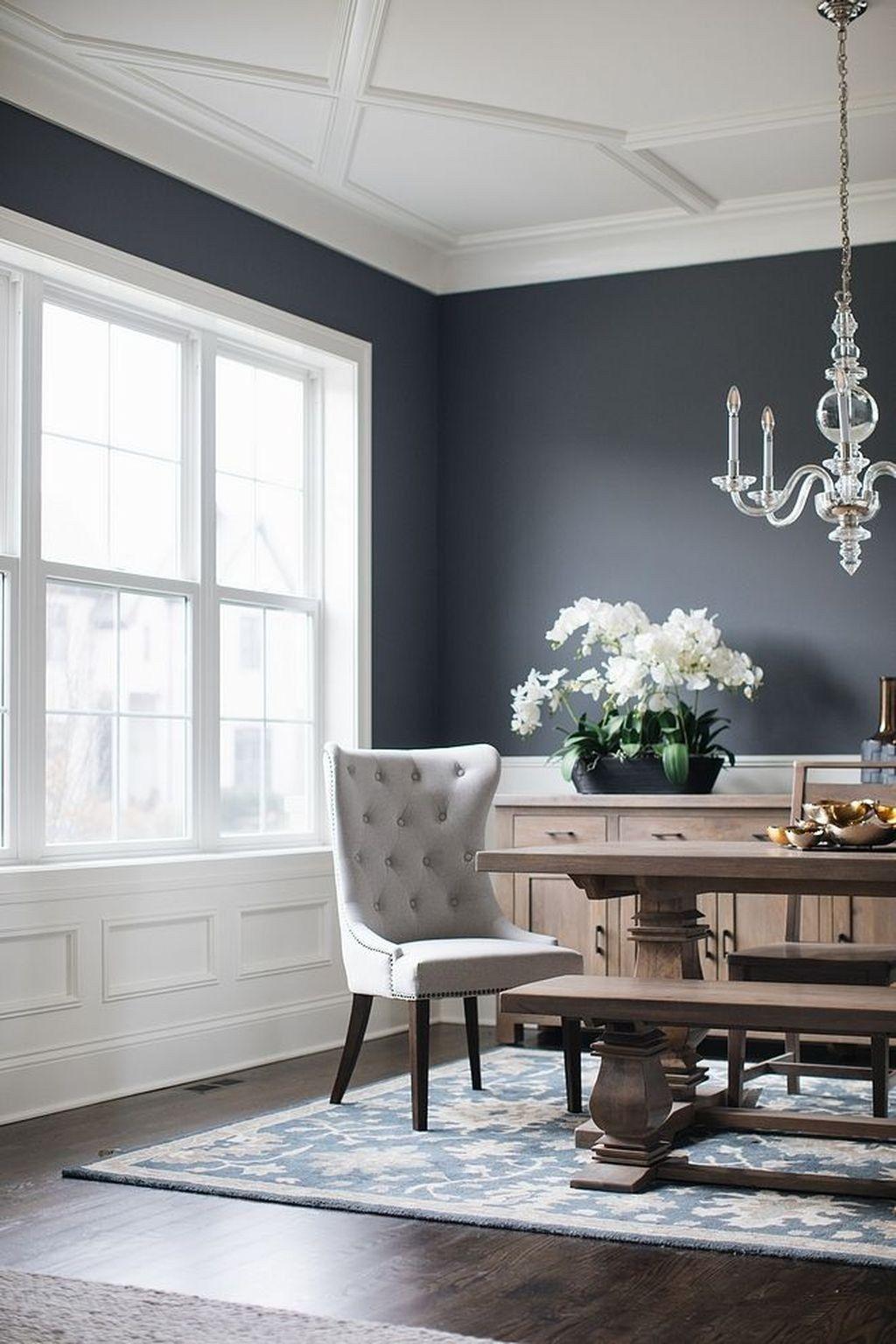 48 beautiful black living room ideas dining room colors on living room color ideas id=24661