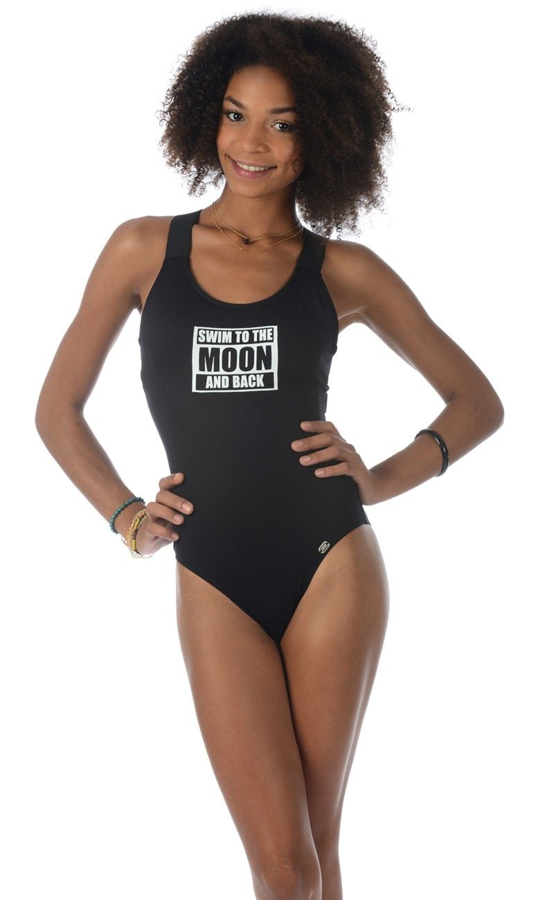 58a829f214 Swimwear Banana Moon Maillot De Bain Noir DolceMaillots nXw8ON0PkZ