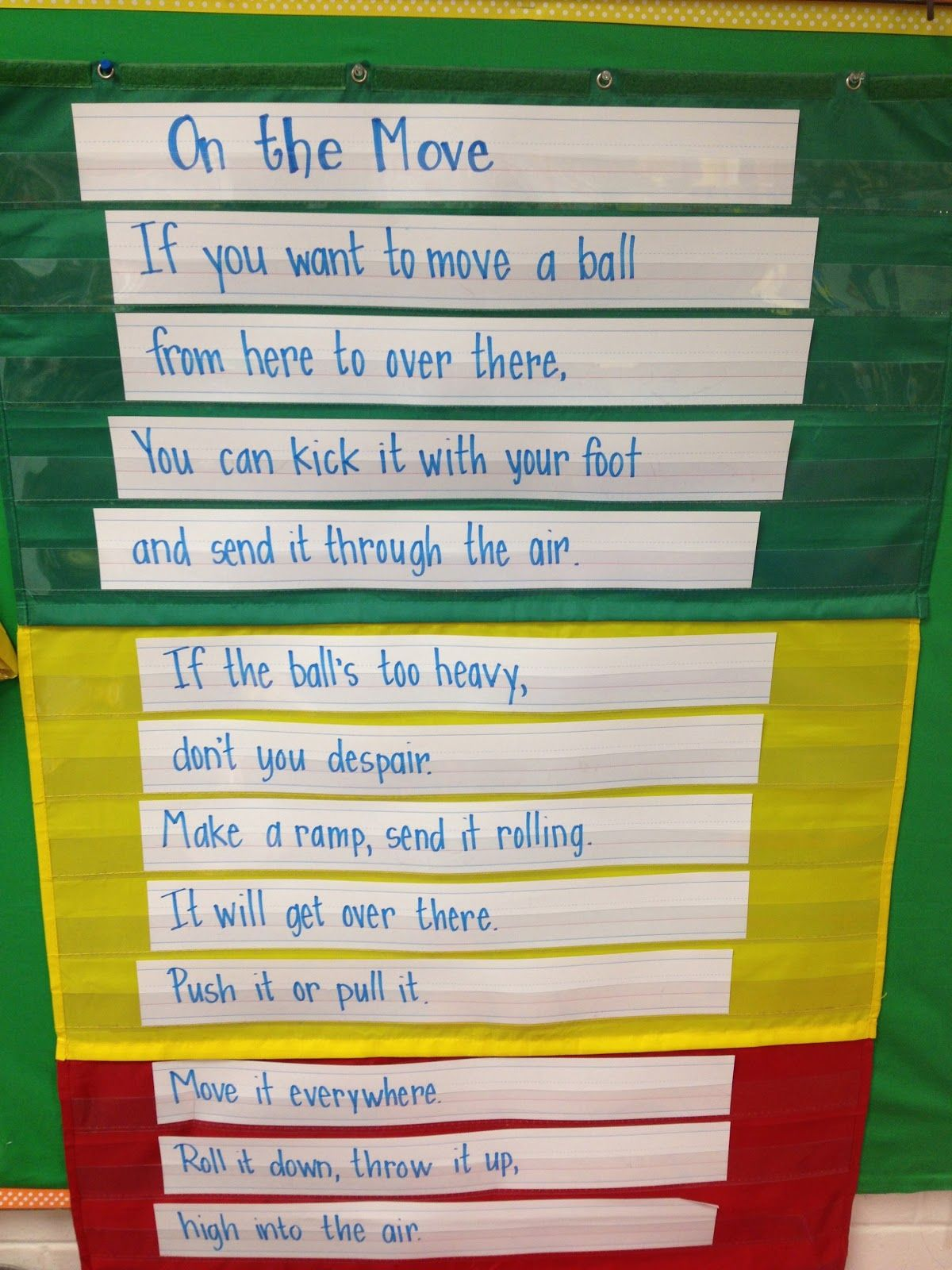 Fabulous In First Force And Motion Poem