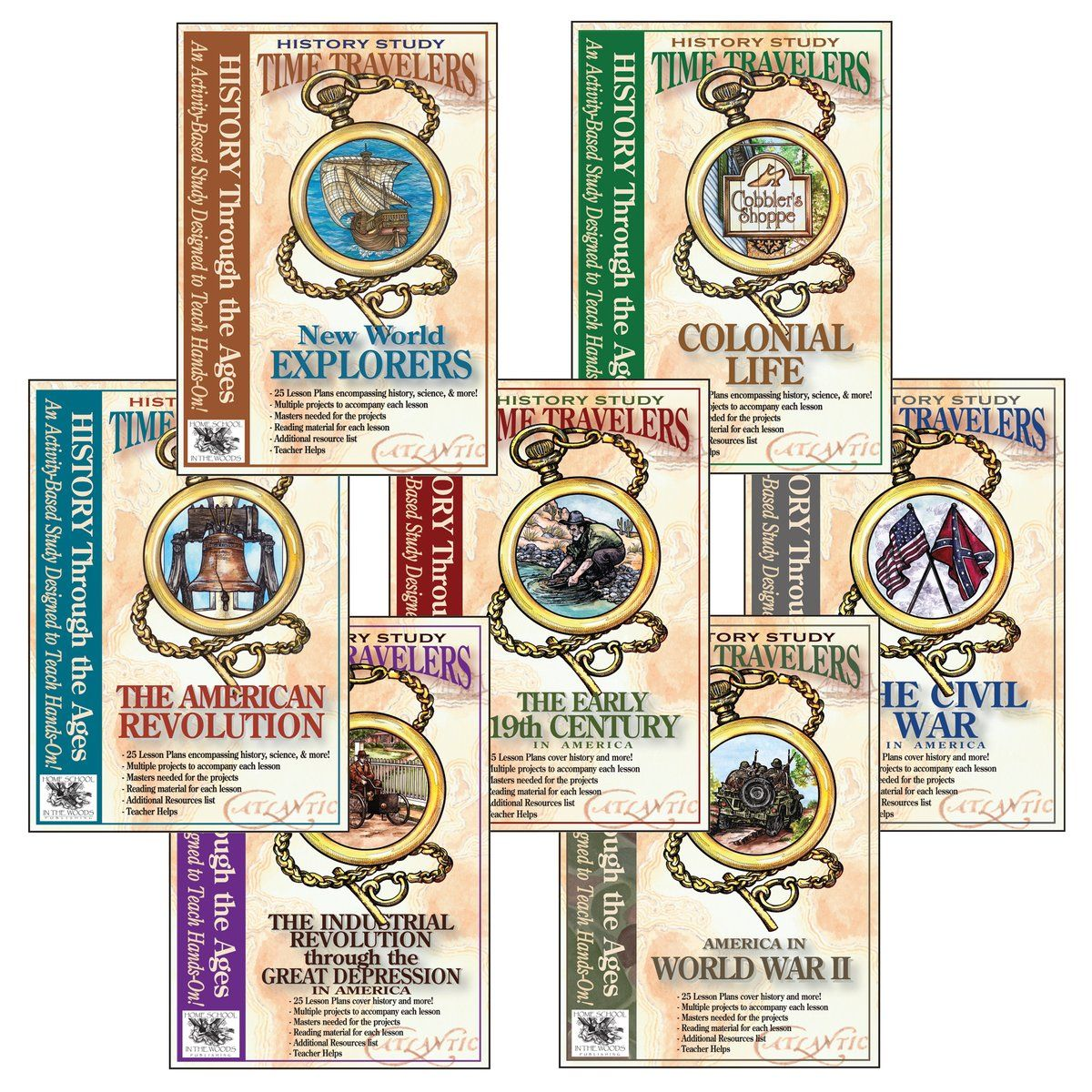 Time Travelers Bundle All 7 U S History Stu S