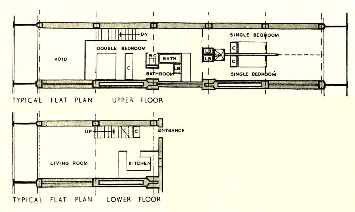 Image result for unite d 39 habitation dimensions unit d for Plan habitation
