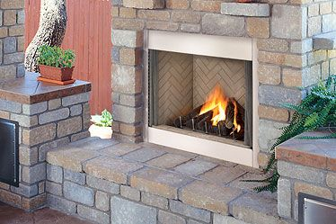 Lennox Outdoor Gas Fireplace Needs No Venting Www