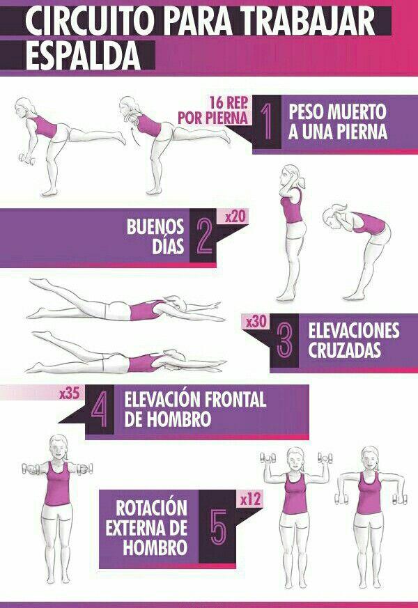ejercicios de espalda casa