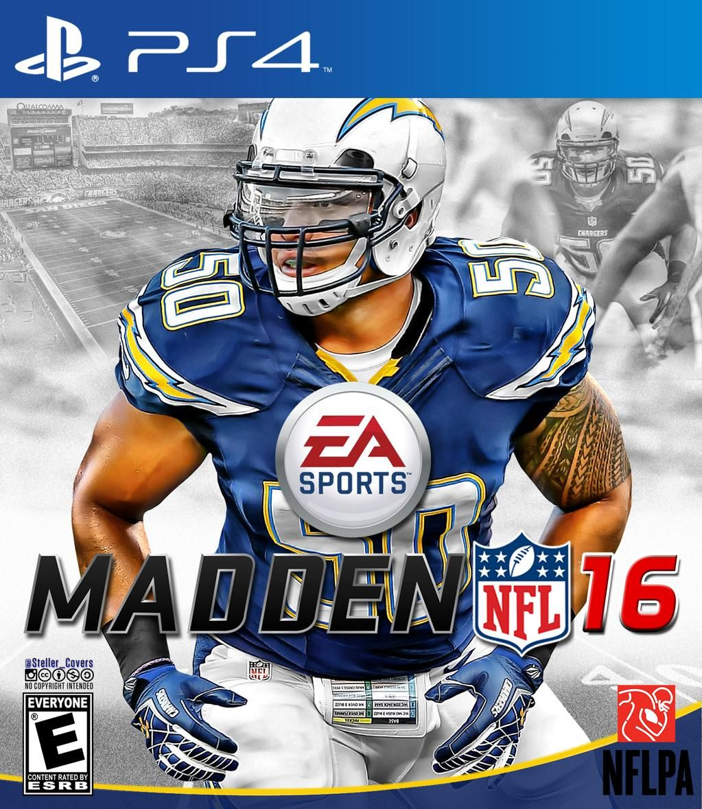 San Diego Chargers Division: Madden 16 Alternate Covers - Google Search